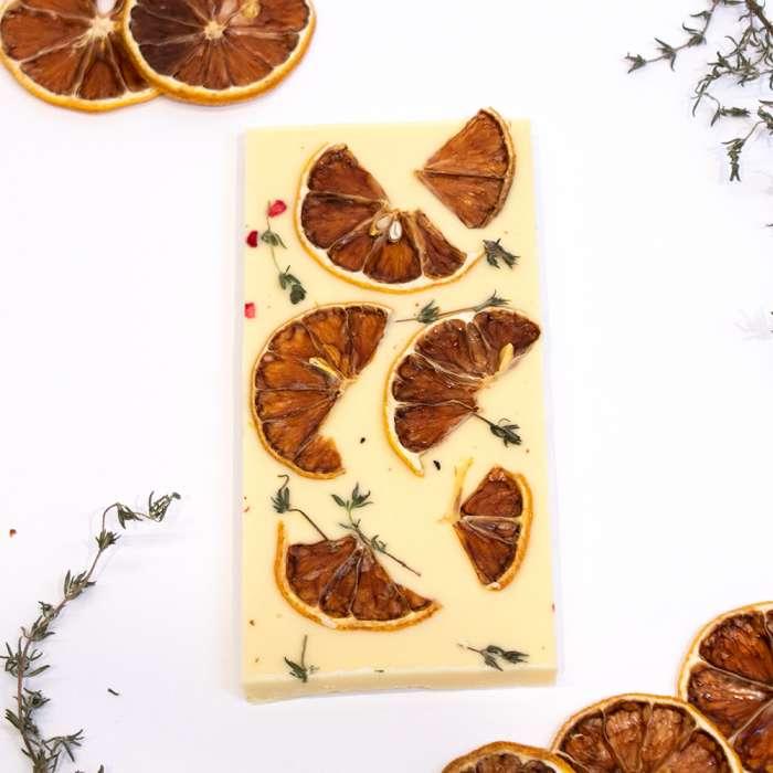 White Chocolate with Thyme & Lemon 3