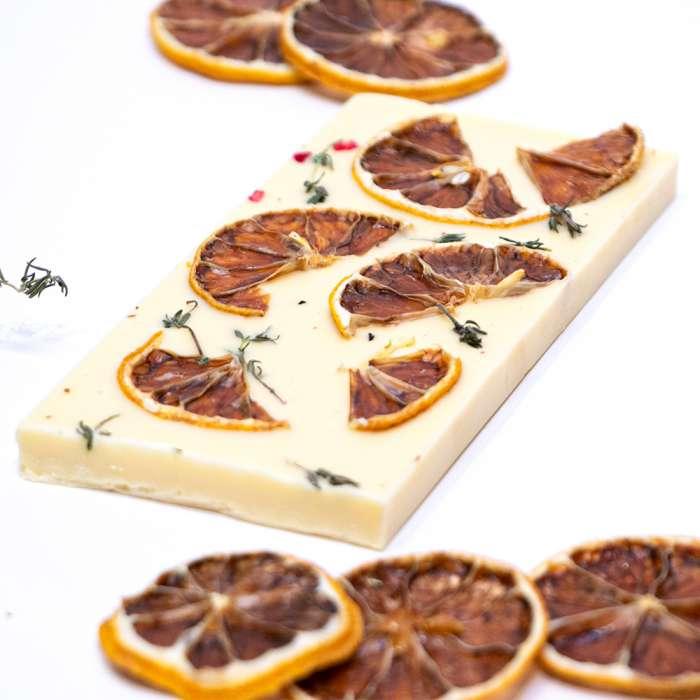 White Chocolate with Thyme & Lemon 1